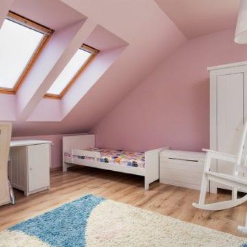 Poddasze: pokój dla dziecka
