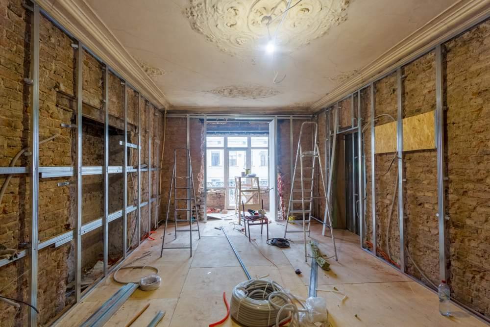 remont wnętrza w starym domu