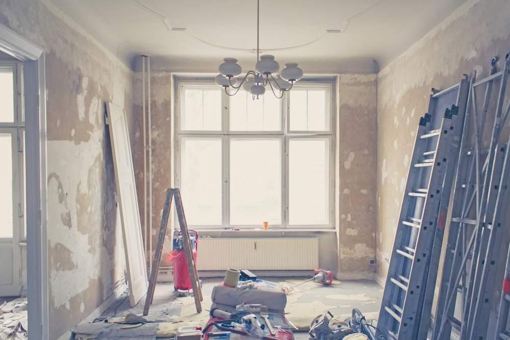 remont starego domu: wnętrza