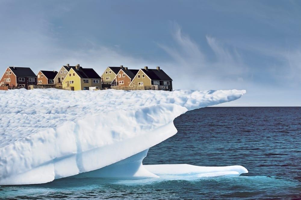 domy na lodowcu