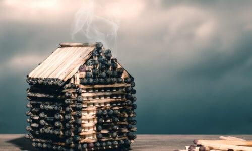 Dom odporny na ogień