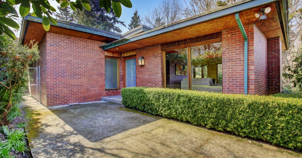 Dom z cegły